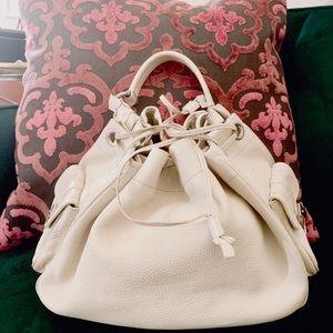 Prada Vitello Daino Drawstring Shoulder Bag